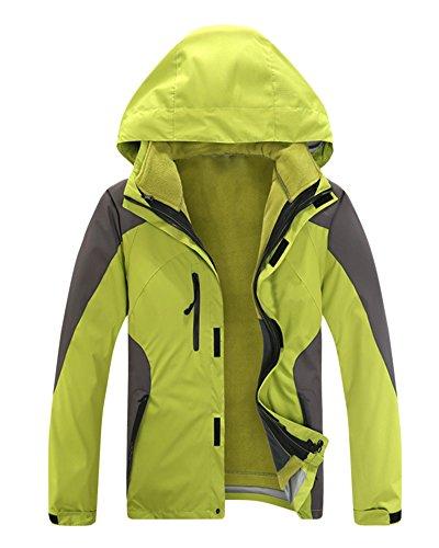Vent Manteau Femme Sport Polaire Ski Imperméable Femelle 3 Veste Homme En Flvert Coupe De 1 Randonnée CHxqBA