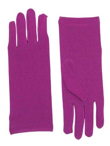 Forum Novelties Women's Novelty Short Dress Gloves, Purple, One (Good Group Fancy Dress)