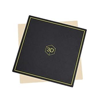 TOOGOO Plataforma De Cama Caliente con Impresora 3D, 235X235 Mm ...
