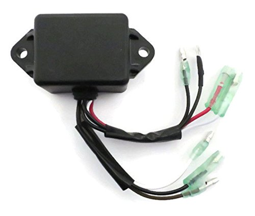 Motor Shop Yamaha - New IGNITION MODULE CDI COIL PACK Yamaha 2 Stroke 9.9 15 25 hp Outboard Motor by The ROP Shop