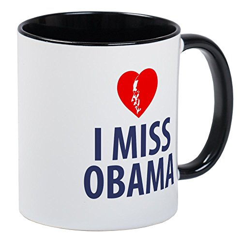 - CafePress I Miss Obama Mugs Unique Coffee Mug, Coffee Cup