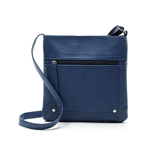 Women Crossbody Leather, AgrinTol Fashion Womens Leather Satchel Shoulder Messenger Bag Handbag