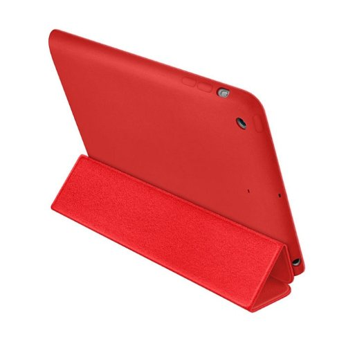 Mokingtop Fashion New Newest Luxury Flip Leather Smart Stand Cover Case For iPad mini 2 2nd (Red)