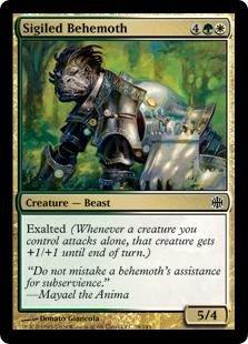 Behemoth Foil (Magic: the Gathering - Sigiled Behemoth - Alara Reborn - Foil)