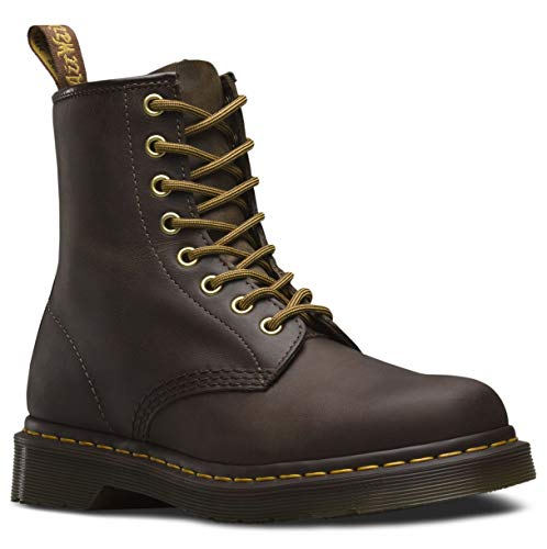 Dr. Martens Shoe's 1460 Boot Aztec Crazy Horse, Men's 12/Women's - Brown Crazy Horse Footwear