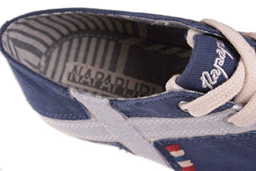 bleu à chaussures SARA lacets NAPAPIJRI pour Femmes Chaussures espadrilles foncé gFXwq8