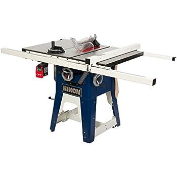 Rikon Power Tools 10 201 Cast Iron Contractors Saw 10