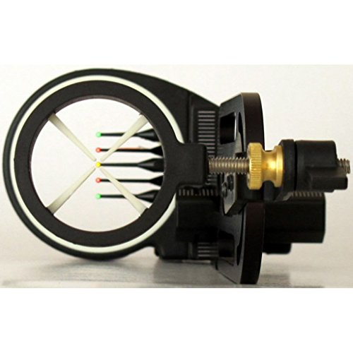 Fiber Glo Pin Sights - Hind Sight Eclipse Bowsight 5 pin