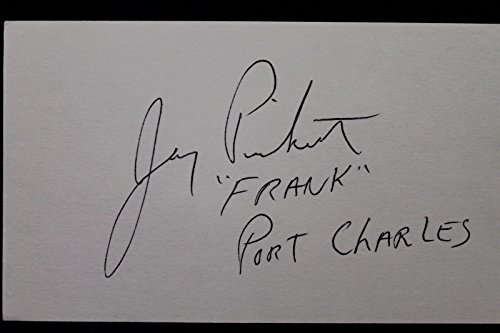 Jay Pickett Actor Smokescreen Television Autographed 3x5 Signed Index Card 106