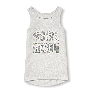 The Children's Place Big Girls' Tank Top, H/T Lunar 08862, S (5/6)