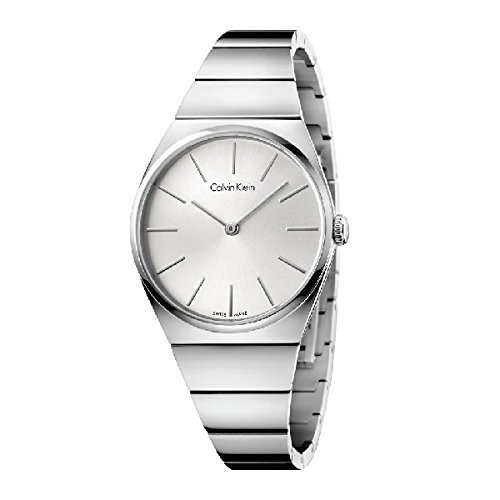 Calvin Klein Supreme Silver Stainless Steel Quartz Analog Women's Watch K6C2X146