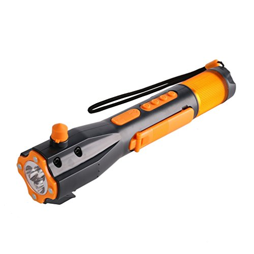 LESHP Emergency Flashlight Portable Window Breaker Cutter...