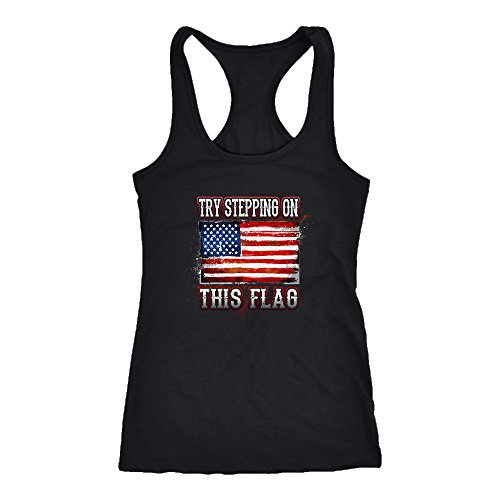 Flag Racerback Tank Top T-Shirt. Funny Flag Tank. Cool Shirt for Flag (XS)