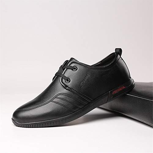 Nero casual Outdoor Sport Qiusa Sneakers Dimensione Scarpe Derby EU ZdTwIqYI