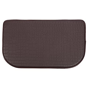 Home Value Cushion Comfort Slice Mat, Plain Color, 24X36 Inch, Chocolate