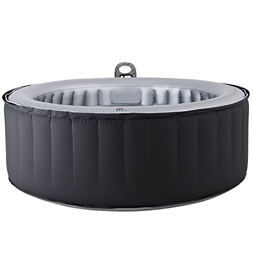 (MSPA Lite Silver Cloud Relaxation and Hydrotherapy Spa Round 6 Person M-021LS)