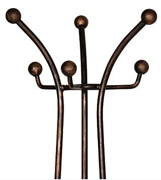 Suska-Regalos Perchero Hierro Negro - 172x46cm: Amazon.es: Hogar