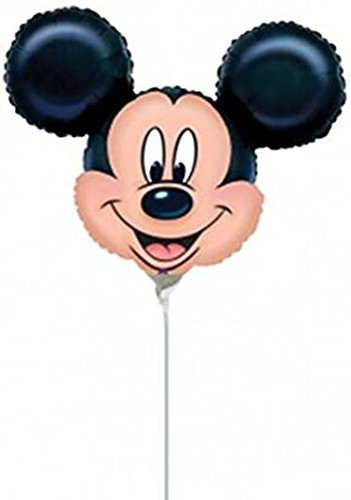 By Broward Balloons Mickey Mouse Mini Shape 14 Inch Balloons (Qty 3) (Mini Mickey Balloon)