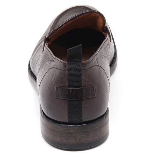 Barracuda Loafer Mocassino Scuro Uomo Scarpe Marrone Vintage Shoe Dark Brown E8918 Man Effect rR8anqwr