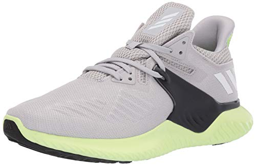 adidas Men s Alphabounce Beyond 2 Running Shoe, Grey White Yellow, 6.5 M US