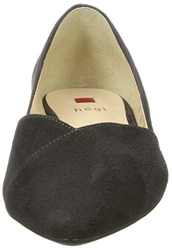 HÖGL Women's 4-10 2002 6600 Closed-Toe Pumps, Grau (Darkgrey) Grey (Darkgrey)