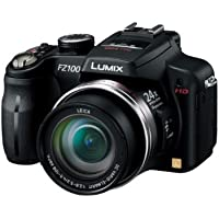 Panasonic DMC-FZ100-K 24 x optical zoom 25 mm wide angle high speed continuous shooting, (International Model)