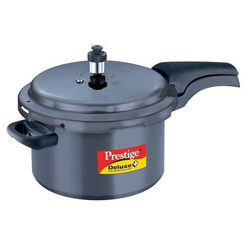 prestige deluxe plus hard anodized pressure cooker