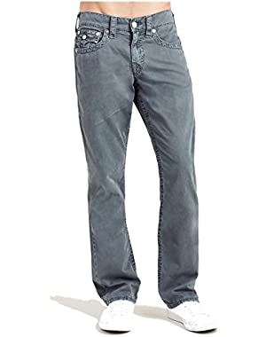 Men's Straight Leg Relaxed Fit Big T w/ Flap Pants in Grey