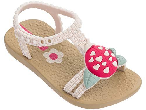 Ipanema Buggy Girls' Baby Sandals, Beige/Beige (8 US)