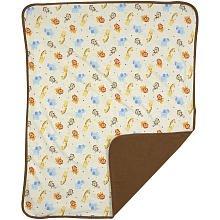 Jungle Jubilee Knit Blanket