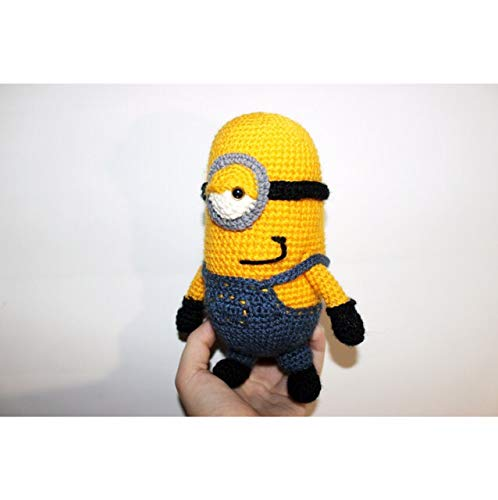 Crochet Minion amigurumi Despicable Me 2 Pattern (With images ... | 500x498