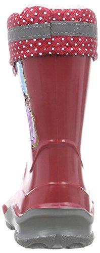Prinzessin Lillifee 120115 Mädchen Halbschaft Gummistiefel Rot (Rot)