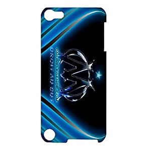 Super Luxury Bling Glitter Football Olympique De Marseille Series Design 3D Durable Hard Plastic Phone Case Cover For IpodTouch 5th Generation
