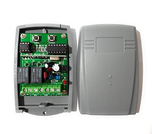 Novoferm Novotron Compatible Receiver  2-Channel universal Receiver for  Novoferm 502 MAX43-2, MAX43-4, MNHS433-02, MNHS433-04, MCHS43-2, MIX43-2,