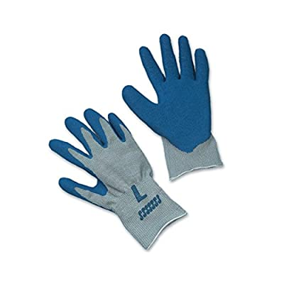 ERB Safety 14407 String Coated Gloves, X-Large, Blue