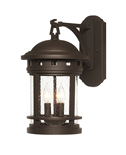Designers Fountain 2381-ORB Sedona 9'' Wall Lantern by Designers Fountain