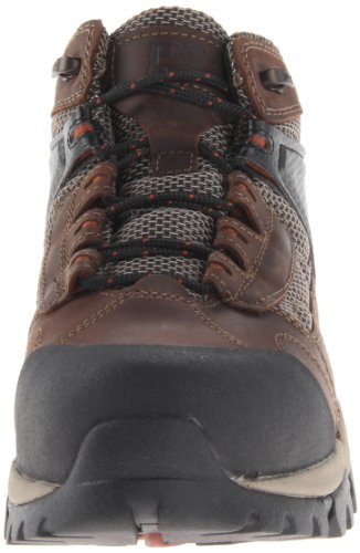 Pictures of Timberland PRO Men's Hyperion Four-Inch Brown Distressed Leather/Fabric 5