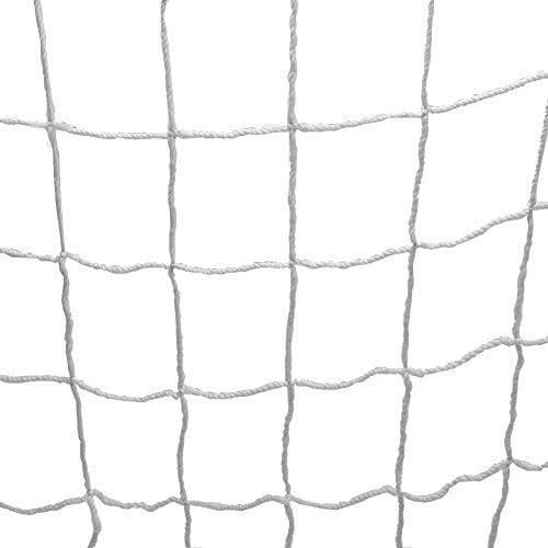 Keenso Rete da Calcio Net Rete da Calcio da Calcio a grandezza Naturale Rete da Calcio Sostitutiva per Porta da Calcio per Allenamento Sportivo