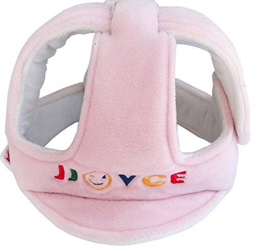 Hi9 Infant Baby Cap Toddler Safety Adjustable Helmet Head Protection Hat For Walking Harnesses jjovc (Pink)