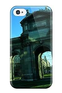 Alanda Prochazka Yedda's Shop 42806 5 5s4K 5 5s7734883 New Puerta De Alcal?? Tpu Skin Case Compatible With iPhone 5 5s