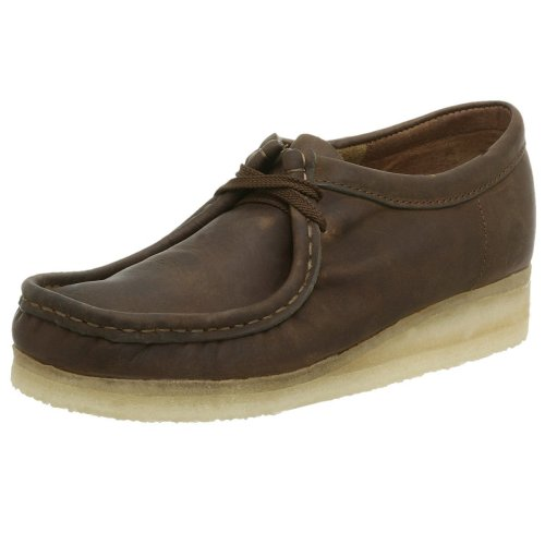 Clarks Originals Men's Wallabee Oxford, Beeswax Leather, 10 M by CLARKS