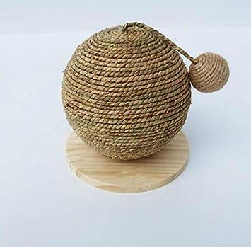 Juguete para gatos con diseño de pelota de rasguños, juguete divertido para gatos, leñosos, As Shown, Approx.25cm(L): Amazon.es: Hogar