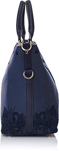 Mehndi Bleu main Navy Soft Desigual portés florida Bols Sacs 6gvvqtx