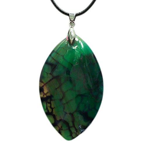 Jade Purple Pendant Beautiful (Oval Shape Agate Pendant that Symbolizes Changes, Achievements Belief & Dreams, with 2 Necklace Cords 18