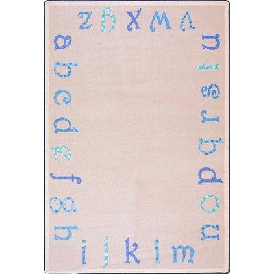 Kid Essentials Polka Dot ABC's Kids Rug Rug Size: 10'9'' x 13'2''
