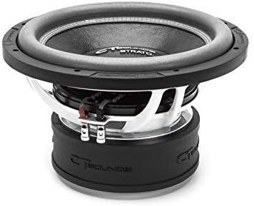 "CT Sounds Strato 18/"" D1 800 Watt RMS 18 Inch Dual 1 Ohm Car Subwoofer Audio Sub"