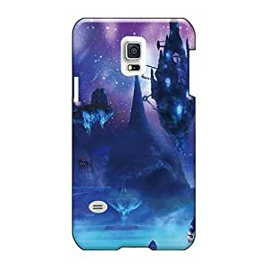 Samsung Galaxy S5 Mini LYl16127aBmr Support Personal Customs Nice Xenoblade Chronicles - Floating Rocks At Night Pattern Scratch Resistant Cell-phone Hard Cover -CharlesPoirier