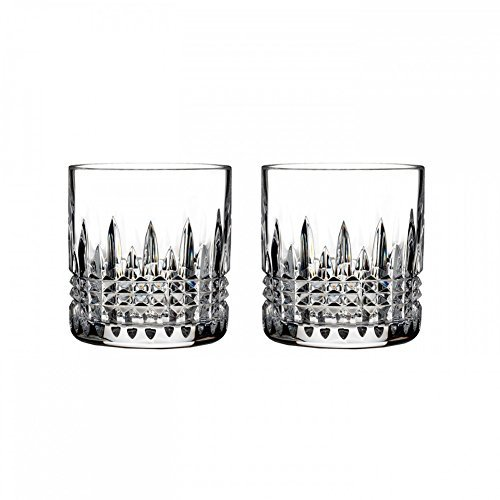 Waterford Crystal Lismore Diamond 7oz Straight Sided Tumbler, Pair ()