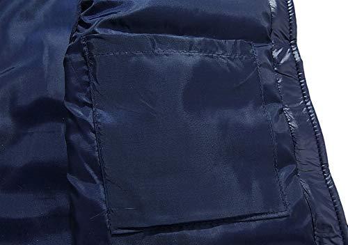Di Ultraleggeri Senza Invernale Blu Icegrey Corto Giù Gilet Uomo Caldo Giubbotto Maniche Piumino 5nUqaz