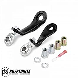 Kryptonite Pitman & Idler Arm Support Kit Compatible with 2001-2010 Chevy/GMC 2500HD 3500HD 110-90715